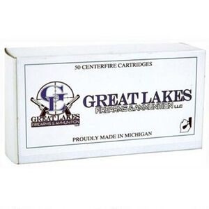 Great Lakes .454 Casull 300 Grain Poly RNFP 50 Round Box