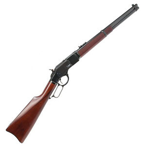 """Cimarron Firearms 1873 US Marshall IT Carbine Leaver Action Rifle .357 Mag 18"""" Round Barrel 9 Rounds Walnut Stock Blued Finish"""
