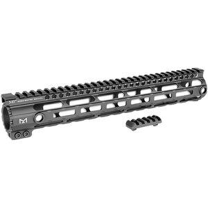 "Midwest Industries SS Series AR-10 15"" Handguard M-LOK Aluminum Black MI-AR10SSM15"
