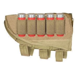 Fox Outdoor Shotgun Butt Stock Cheek Rest Left Hand Coyote Tan 55-578