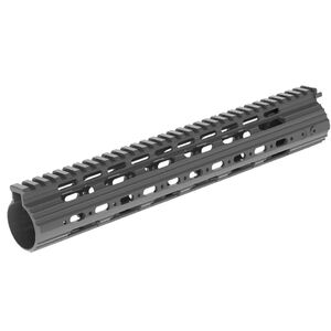 "Leapers UTG PRO LR-308 Low Profile 13"" SuperSlim Free Float Rail Aluminum Black"