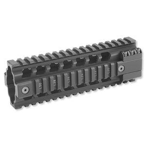 ERGO AR-15 Z Rail Two Piece Carbine Length Free Float Handguard Aluminum Black 4809