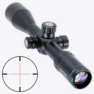 Riton RT-S Mod 7 5-25x56 Riflescope Illuminated Mil-Dot Reticle 34mm Tube .25 MOA per Click 6061-T6 Aluminum First Focal Plane Adjustable Parallax Matte Black