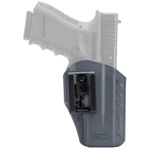 BLACKHAWK! A.R.C. Appendix Holster For GLOCK 43 Ambidextrous Polymer Gray 417568UG
