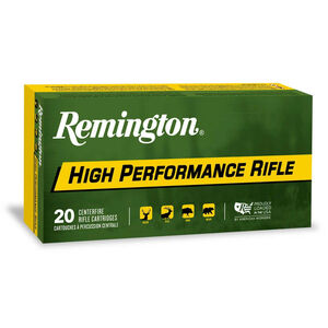 Remington High Performance Rifle .220 Swift Ammunition 20 Rounds 50 Grain Pointed Soft Point 3780fps