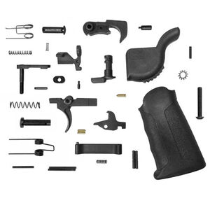 KE Arms AR15 Enhanced Complete Lower Parts Kit Black