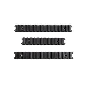 Phase 5 LPSN15 Rail Section Kit Picatinny Panels 6061 Billet Aluminum Hard Coat Anodized Matte Black