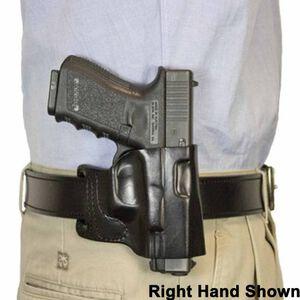 DeSantis Gunhide E-GAT Belt Slide Holster For GLOCK 17, 19, 22, 23, 31, 32, 36 Left Hand Leather Black 115BBB2Z0