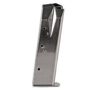 Mec-Gar Ruger P Series 9mm Magazine 17 Rounds Steel Nickel MGRP8517N