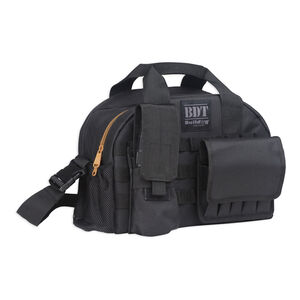 Bulldog Cases Tactical Range Bag with MOLLE Magazine Pouch Black