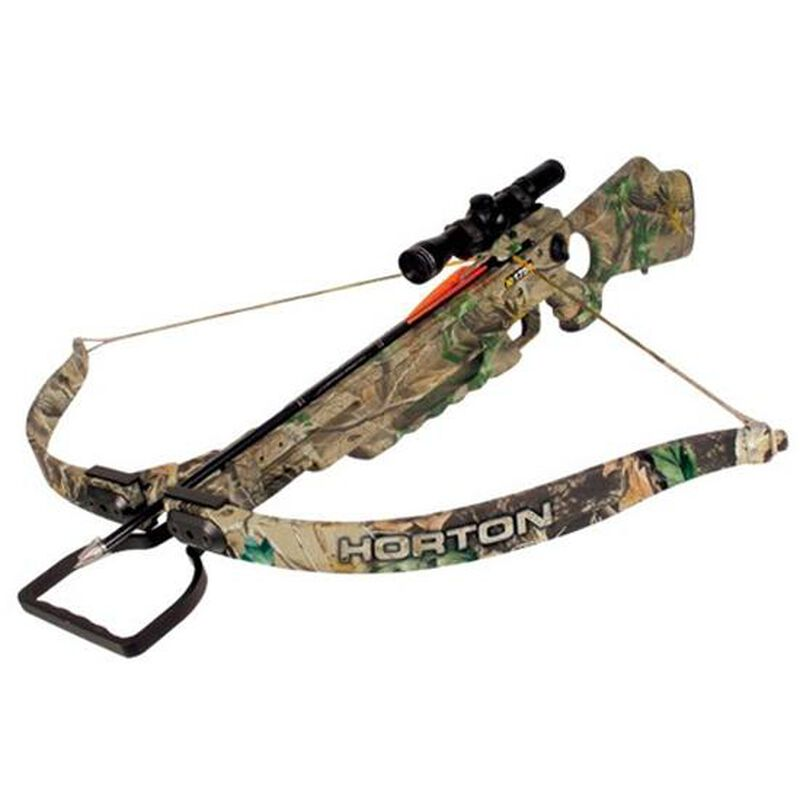 Horton Legacy 175 Recurve Crossbow Scope Package CB724
