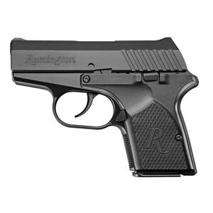 "Remington RM380 Semi Auto Pistol .380 ACP 2.9"" Barrel 6 Rounds Fixed Sights Black 96454"