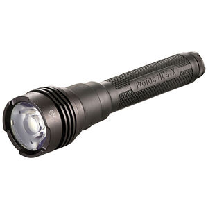 Streamlight ProTac HL 5-X 3500 Lumen Tactical White LED Flashlight Multi-Fuel Compatible Ten-Tap Programming Rubber Sleeve Aluminum Housing Matte Black Finish