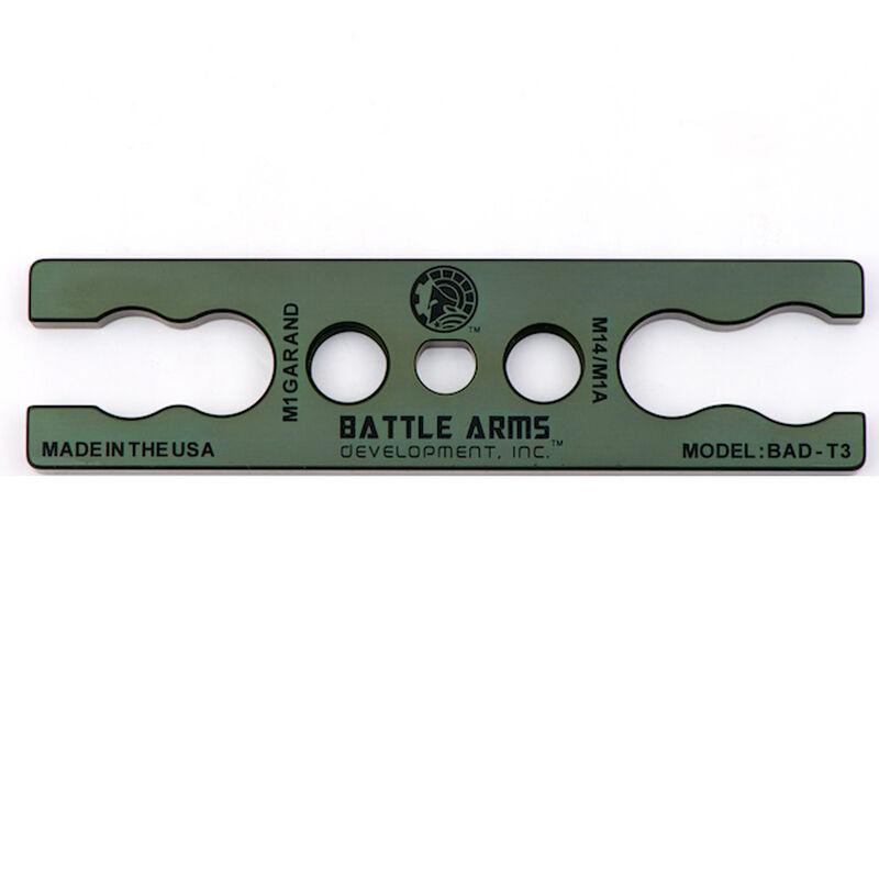Battle Arms Development M14 / M1A & M1 Garand Gas Cylinder Lock Wrench 7075-T6 Aluminum Anodized OD Green