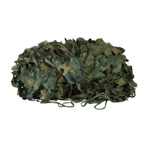 Voodoo Tactical Mil-Spec Leaf Cut Camo Netting 10'x10' Woodland 02-9295005000