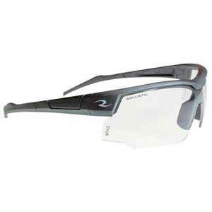 Radians SkyBow Shooting Glasses Blue Gray Frame Clear Lens