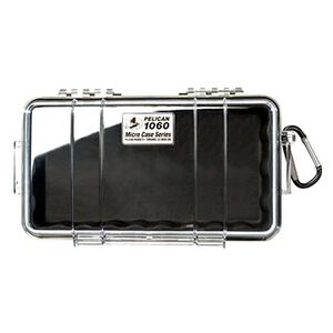 Pelican Sport Micro Case Black With Clear Lid 1060-025-100