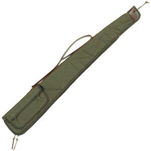 """Bob Allen BA2100 Canvas Shotgun Case Green 44"""" 14533"""