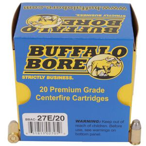 Buffalo Bore .380 ACP 100gr Hardcast Flat Nose 20 Rounds