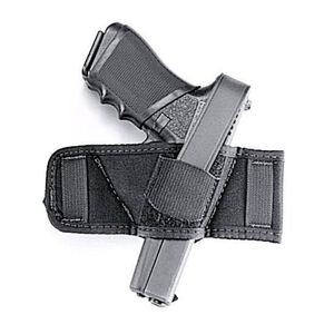 Uncle Mike's Ambidextrous Side Bet Belt Slide Holster Autos & Revolvers Nylon Black