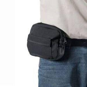BLACKHAWK! Large Belt Pouch Concealment Holster Nylon Black 40BP01BK