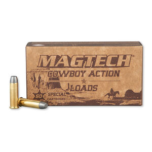 Magtech .38 Special Ammunition 50 Rounds LFN 158 Grains 38L