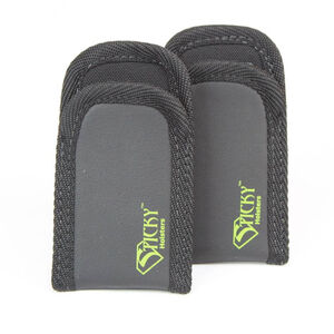 Sticky Holster Universal Mag Pouch Sleeve IWB/Pocket x 2 Black