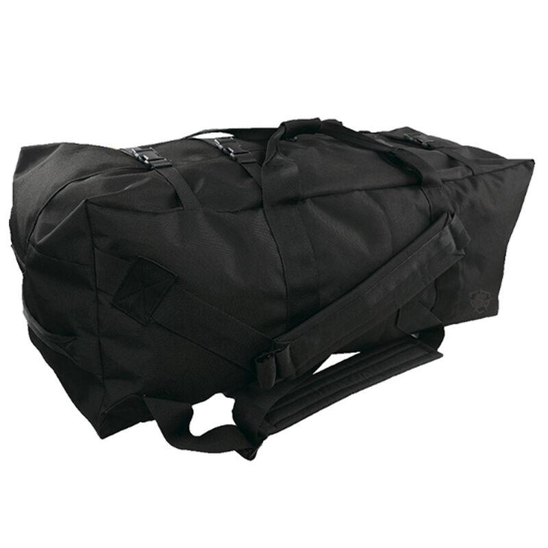 5ive Star Gear GI Spec 4-Strap Zipper Duffle Bag Black