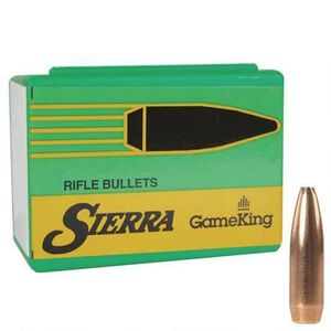 "Sierra GameKing Bullet 6.5mm .264 Caliber 0.264"" Diameter 130 Grain Hollow Point Boat Tail Projectile 100 Count"