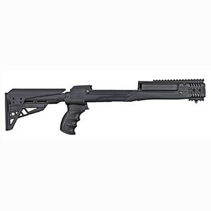 ATI Tactlite 10/22 Adjustable Side-Folding Stock, Black