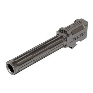 "Lantac 9INE Drop In Replacement Barrel GLOCK 19 Fluted/Non-Threaded 9mm Luger 1:10"" Twist Stainless Steel Natural Finish"