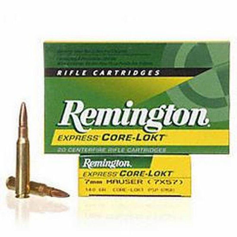 Remington Core-Lokt 7mm Mauser Ammunition 20 Rounds PSP 140 Grains 29031
