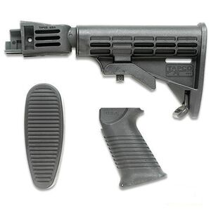 TAPCO Intrafuse Saiga T6 Collapsible 6 Position Stock and Pistol Grip Black
