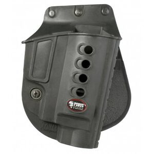 Fobus Evolution Holster Taurus Judge Right Hand Roto-Paddle Attachment Polymer Black
