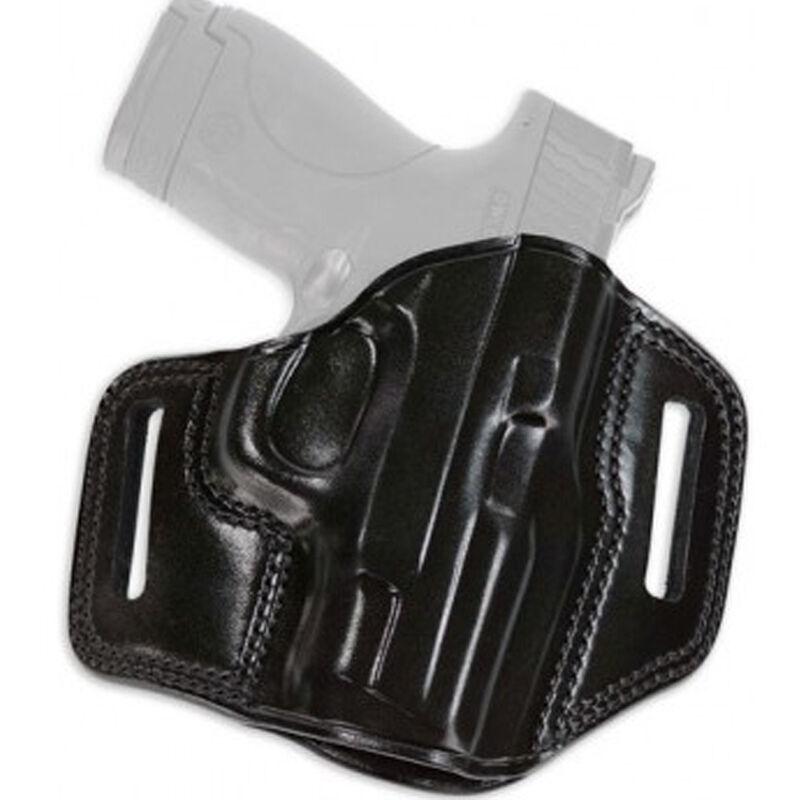 "Galco Combat Master Belt Holster Fits SIG Sauer P320C 9/40 Belt Slide up to 1.75"" Right Hand Leather Black"
