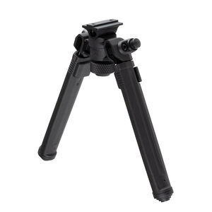"""Magpul Bipod for A.R.M.S 17S Style Mount 6.3""""/10.3"""" Adjustable Bipod 6061-T6 Aluminum Hard Coat Anodized/Injection Molded Polymer Black Finish"""