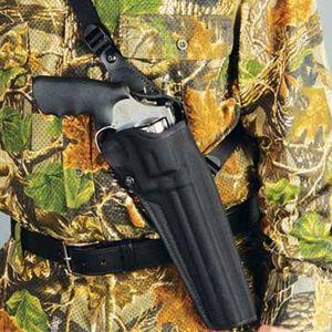 "DeSantis Black Mamba Chest Holster S&W 500 8-3/8"" Right Hand Nylon Black M40BA05Z0"