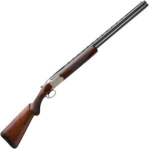 "Browning Citori Feather Lightning 20 Gauge O/U Break Action Shotgun 26"" Vent Rib Barrels 3"" Chamber 2 Rounds Walnut Stock Silver Receiver with Blued Barrel Finish"