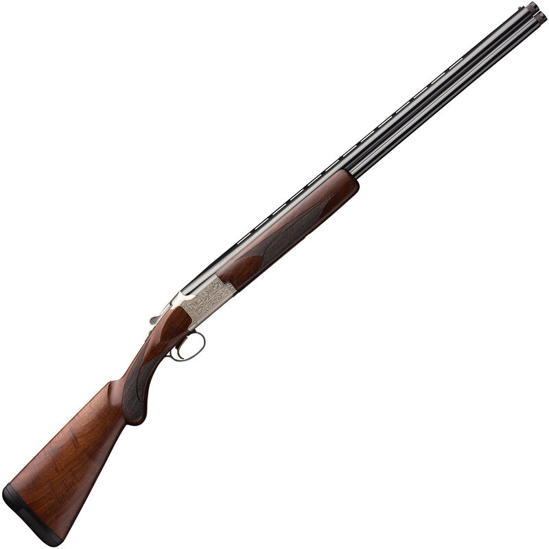 "Browning Citori Feather Lightning 20 Gauge O/U Break Action Shotgun 26"" Vent Rib Barrels 3"" Chamber 2 Rounds Walnut Stock Silver Receiver with Blued Barrel Finish"
