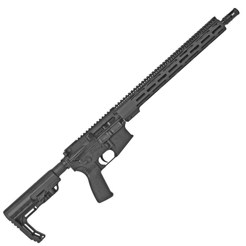 "Radical Firearms AR-15 5.56 NATO Semi Auto Rifle 16"" SOCOM Barrel 10 Rounds Free Float M-LOK Hand Guard Collapsible Stock Matte Black Finish"
