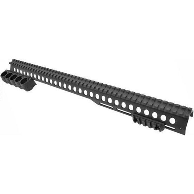Aimtech Warhammer Rail System 5 Shot M-LOK Left Hand Mossberg 500 12 Gauge Black ML-3WH 5S LH