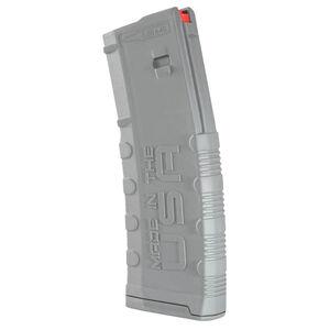 Amend2 Mod-2 AR-15 30 Round Magazine .223 Remington/5.56 NATO Anti-tilt Super Follower Stainless Steel Spring Polymer Gray