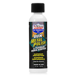 Lucas Oil Gun Metal Polish And Tumbler Media Additive 4 Fl Oz 10878