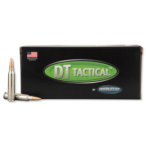 DoubleTap .223 Remington Ammunition 20 Rounds Nosler BTHP 77 Grains 22377M20