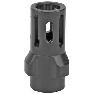 Angstadt Arms 3-Lug Flash Hider 1/2x36 9mm Black