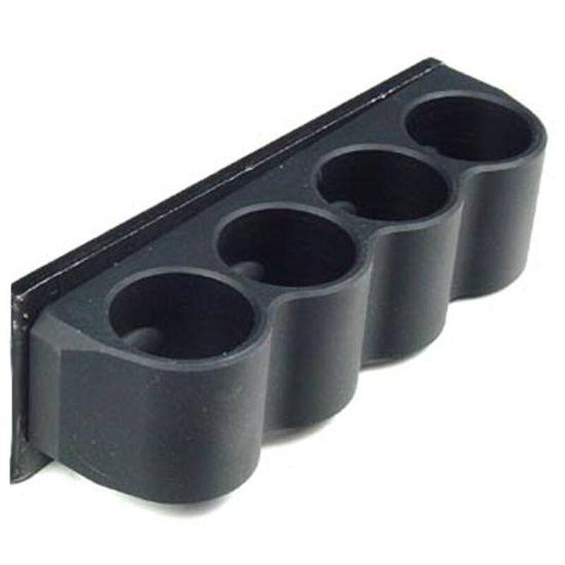 Mesa Tactical 4 Shell SureShell Side Saddle Shotshell Carrier for Rem 870, 1100, and 11-87 12 Gauge Black