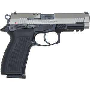 "Bersa TPR9 Duotone 9mm Luger Semi Auto Pistol 4.25"" Barrel 17 Rounds Alloy Frame Polymer Grips Matte Duotone Finish"