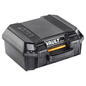 "Pelican V100 Vault Small Pistol Case 11""x8""x4.5"" High Impact Polymer Black"
