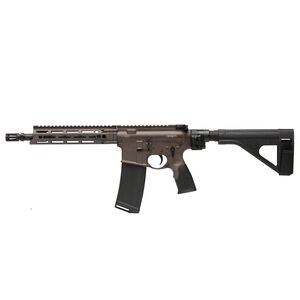 "Daniel Defense M4 V7 P AR-15 .300 AAC Blackout Semi Auto Pistol 10.3"" Barrel 32 Round Magazine DD MFR M-LOK Hand Guard SB-Tactical SOB Pistol Stabilizing Brace FDE/Black Finish"