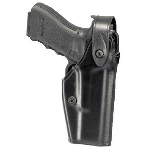 Safariland 6280 SLS Mid-Ride Glock 17, 22, 19, 23 Level 2 Retention Right Hand Thermal-Molded STX Tactical Black 6280-83-131